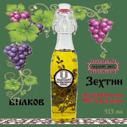 Зехтин по рецептата на Петър Дънов - букет Билки, 513 мл